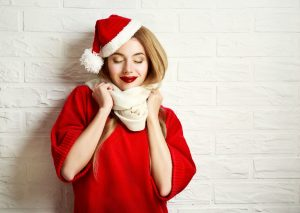 Outfit di Natale Chic - Sara Cavallari