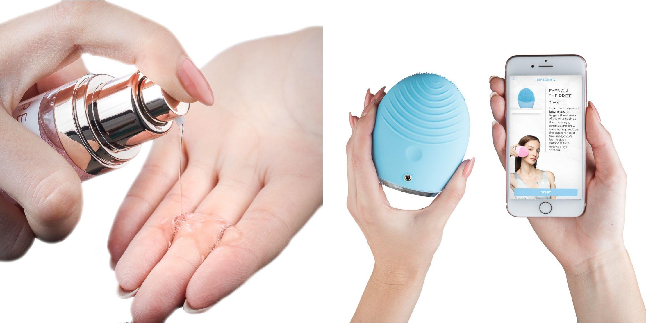 Massaggio del viso inteligente di FOREO LUNA 3 per pelli miste